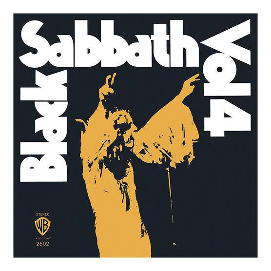 Black Sabbath - Vol. 4 (Limited Edition) - 180g Orange Vinyl