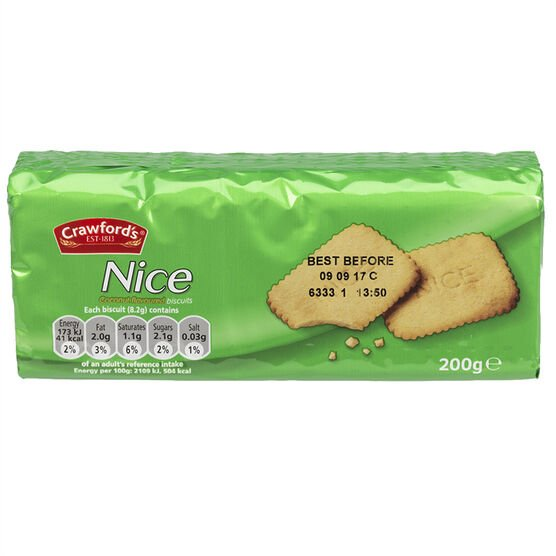 Crawford's Nice Biscuits - 200g