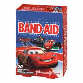 Johnson & Johnson Band-Aid - Disney Cars - 20's - Assorted Sizes