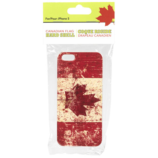 Canada Flag Hard Case for iPhone 5/5S/SE - Red