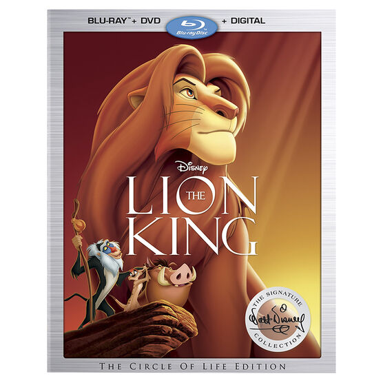 The Lion King - Blu-ray