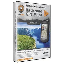 Backroad GPS Maps - Newfoundland and Labrador - 02386