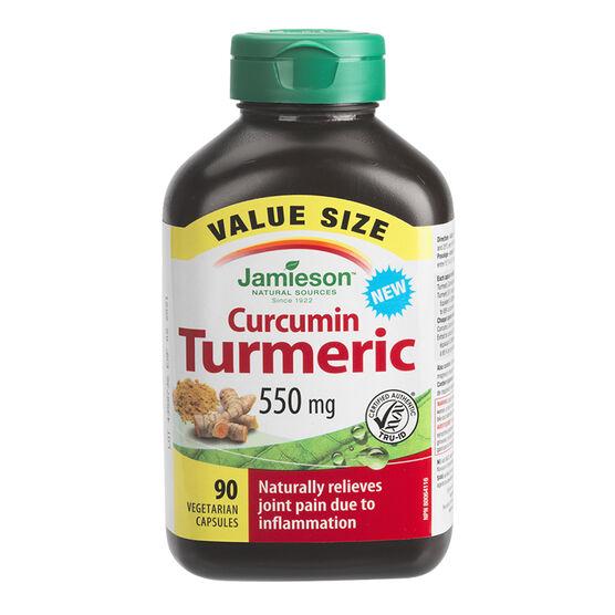 Jamieson Curcumin Turmeric - 550mg - 90's