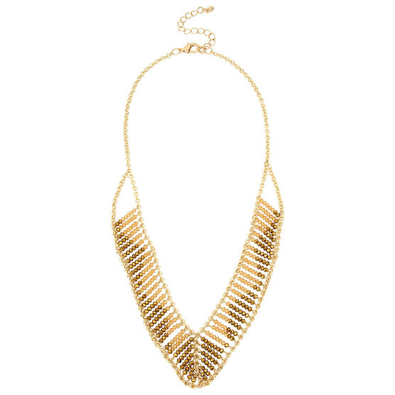Haskell Frontal Necklace - Gold