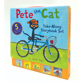 Pete the Cat Take Along Storybook Set by James Dean