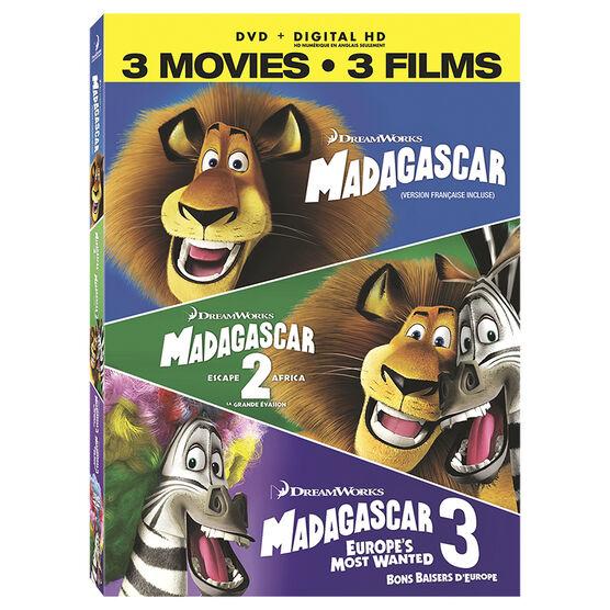 Madagascar 3-Movie Collection - DVD