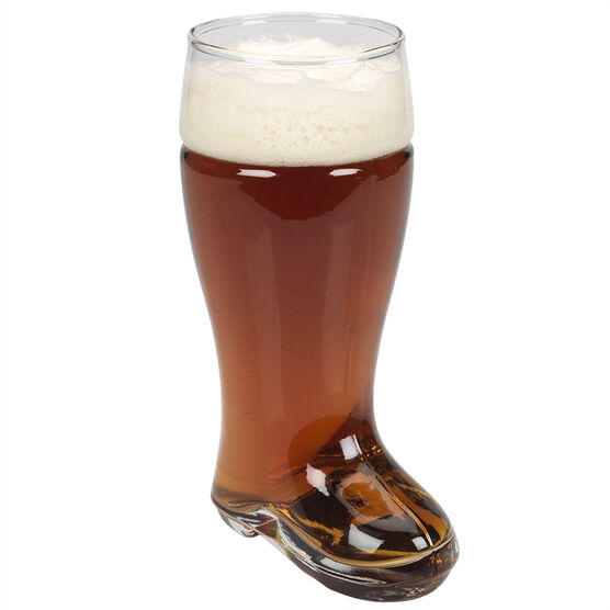 London Drugs Boot Beer Glass - 650ml