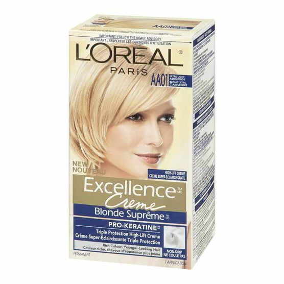 L'Oreal Excellence Creme - AA01 Ultra Light Ash Blonde
