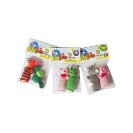 Chilly Dog Barn Yarn Cat Nip Toy - 2 pack - Assorted