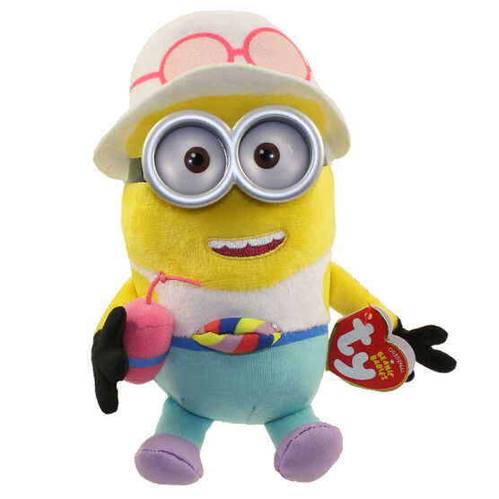 TY Despicable Me Beanie Baby - Tourist Minion Jerry