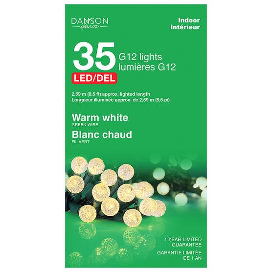 Danson Indoor LED G12 Lights - White - 35's