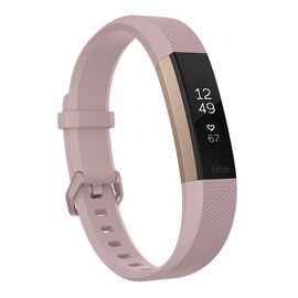Fitbit Alta HR Fitness Tracker - Rose Gold - Large