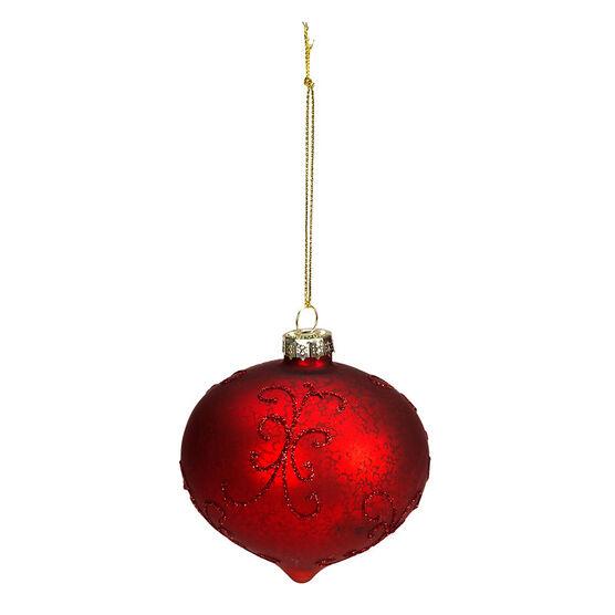 Wild Berries Matt Finish Onion Ornament - 8cm