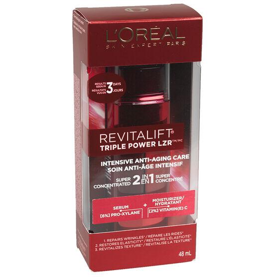 L'Oreal Realist Triple Power LZR Serum & Moisturizer  - 48ml