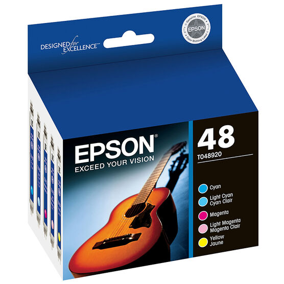 Epson 48 Ink Cartridge - Colour Multipack - T048920