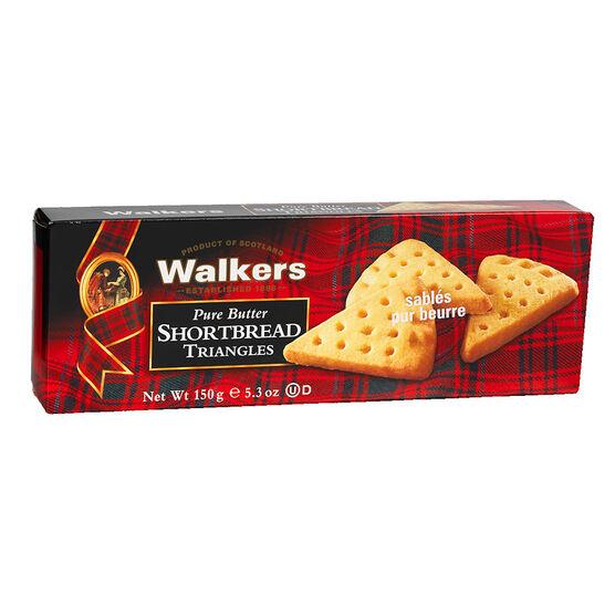 Walkers Shortbread Triangles - 150g