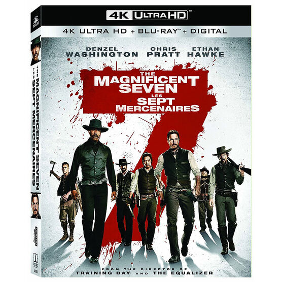 The Magnificent Seven - 4K UHD Blu-ray