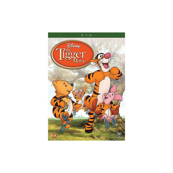 The Tigger Movie: Bounce-A-Rrrific Special Edition - DVD