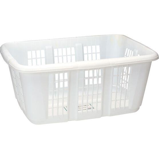 Rubbermaid Laundry Basket - White - 50L