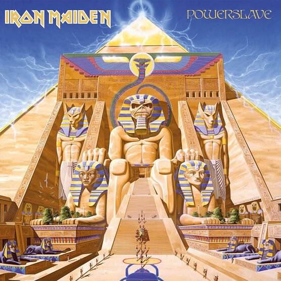 Iron Maiden - Powerslave (Remastered) - CD