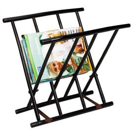 London Drugs Bamboo Magazine Rack - Dark Brown