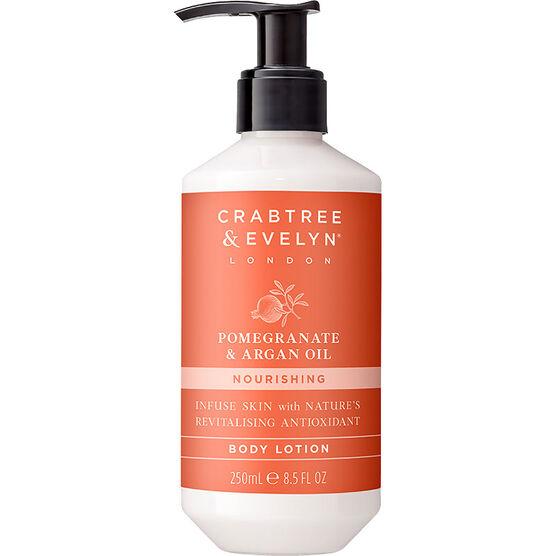 Crabtree & Evelyn Pomegranate & Argan Oil Nourishing Body Lotion - 250ml