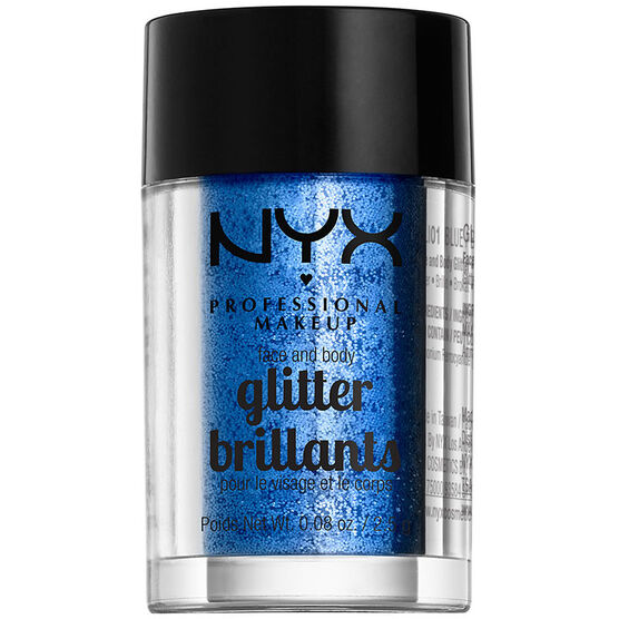 NYX Professional Makeup Face and Body Glitter - Blue