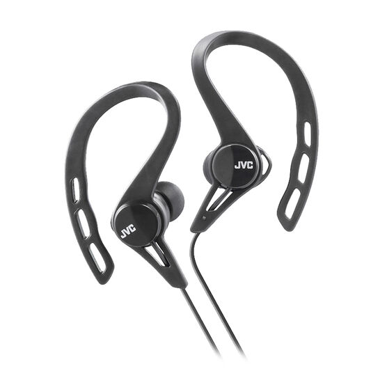 JVC In Ear Sport Headphones - Black - HAECX20B