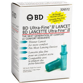 BD Ultra Fine TM II Lancet - 30 G - 200's