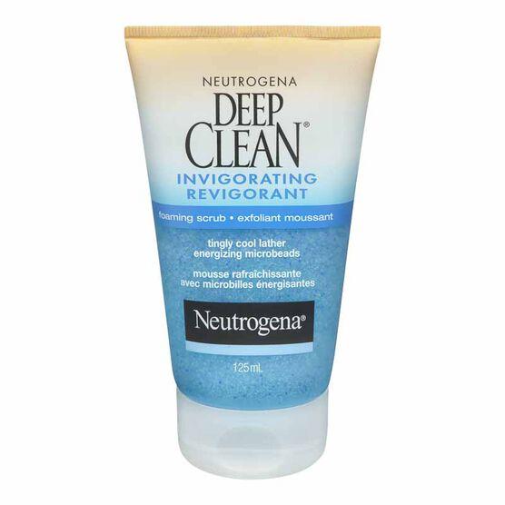 Neutrogena Deep Clean Invigorating Foaming Scrub - 125ml