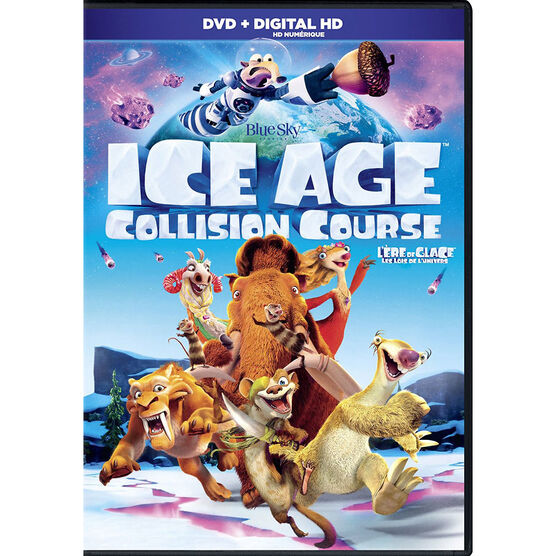 Ice Age 5: Collision Course - DVD