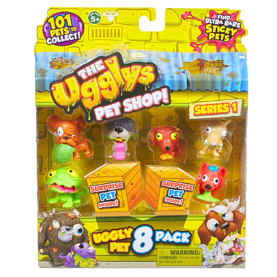 Uggly's Pet Shop Series 1 - 8 pack