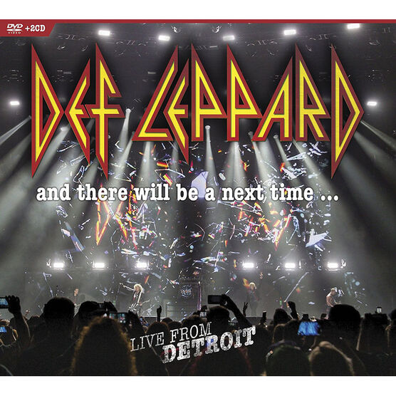 Def Leppard: Live from Detroit - DVD + 2 CD