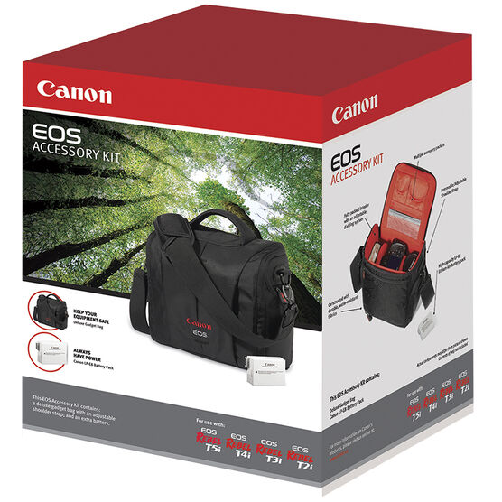 Canon Accessory Kit for EOS T2i/T3i/T4i/T5i - 4515B007