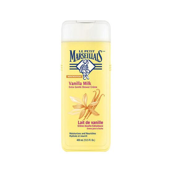 Le Petit Marseilials Shower Creme - Vanilla Milk - 400ml
