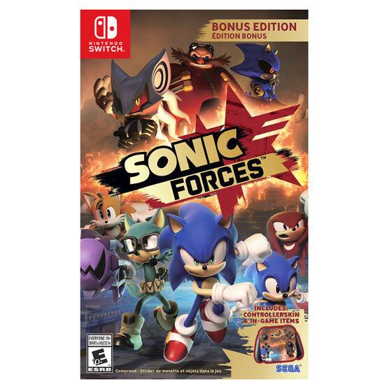 Switch Sonic Forces Bonus Edition