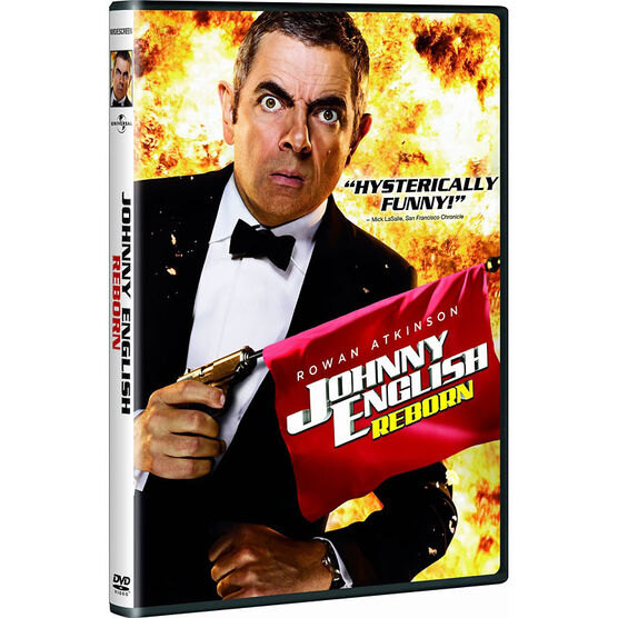 Johnny English Reborn - DVD