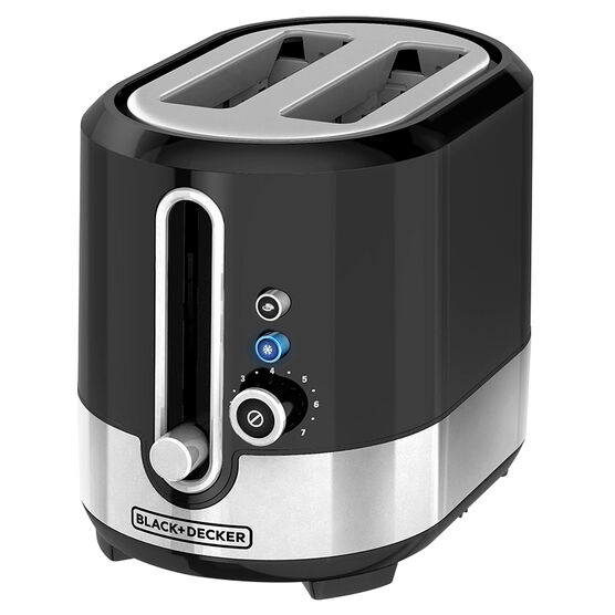 Black & Decker One Touch Toaster - TR2200SBD