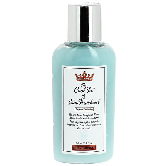 Shaveworks The Cool Fix Targeted Gel Lotion - 60ml