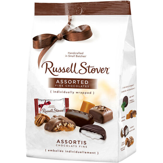 Russell Stover Assorted Fine Chocolate - 522g Bag