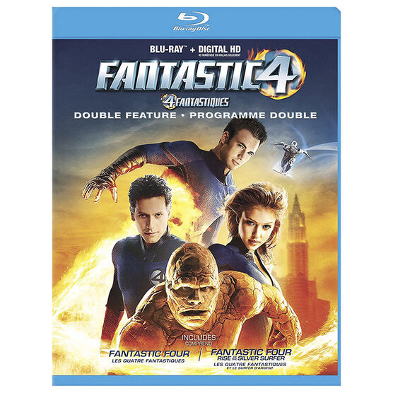 Fantastic Four And Fantastic Four 2 Rise Of The Silver Surfer - Blu-ray