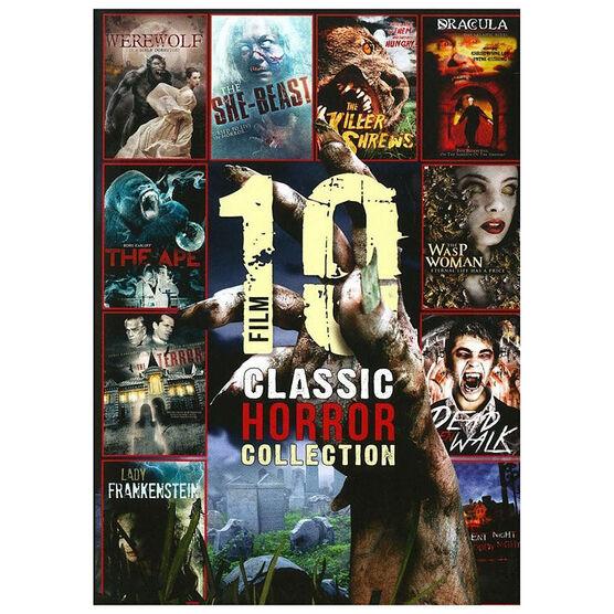 10 Film Classic Horror Classics - DVD