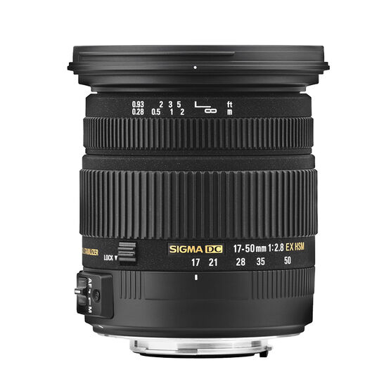 Sigma EX DC 17-50mm F2.8 HSM Optical Stabilized Lens for Nikon