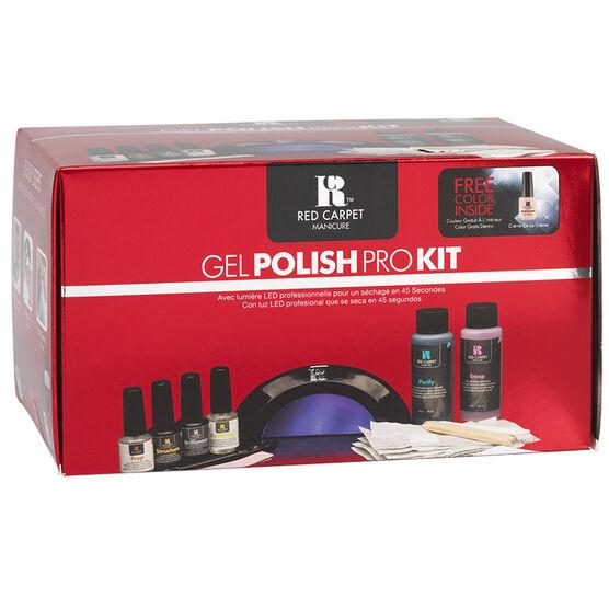 Red Carpet Manicure Gel Polish Pro Kit