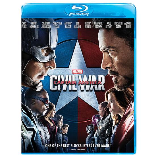 Captain America: Civil War - Blu-ray