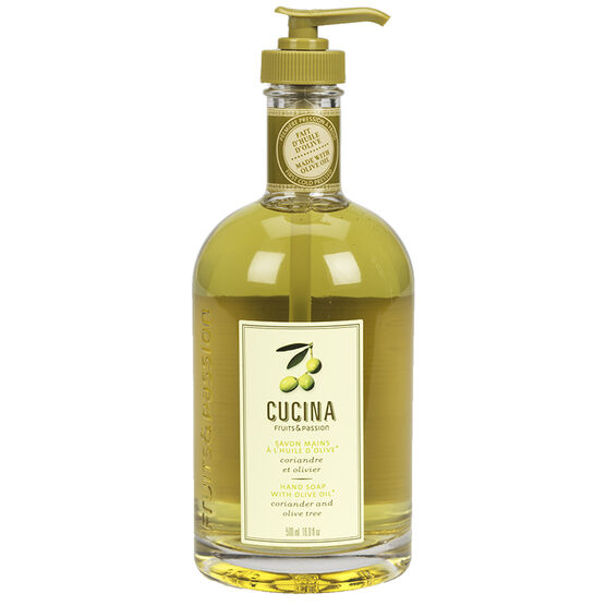 Fruit & Passion Cucina Hand Soap - Coriander and Olive Tree - 500ml
