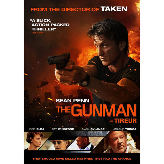 The Gunman - DVD