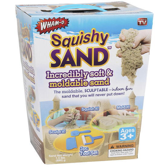 Squishy Mouldable Sand