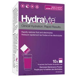 Hydralyte Electrolyte Powder - Apple Blackcurrant - 10 x 5g