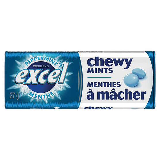 Excel Peppermint Chewy Mint - 27g